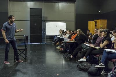 Kathleen Turner Master Class Pic 1