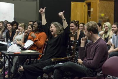 Kathleen Turner Master Class Pic 3