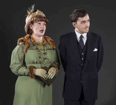 Lady Bracknell and Jack Worthing